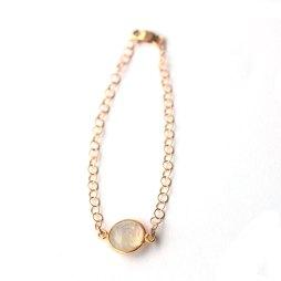 bracelet-handmade-moonstone-dainty-jewlery