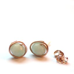 earrings-studs-gemstone-14k-gold-filled