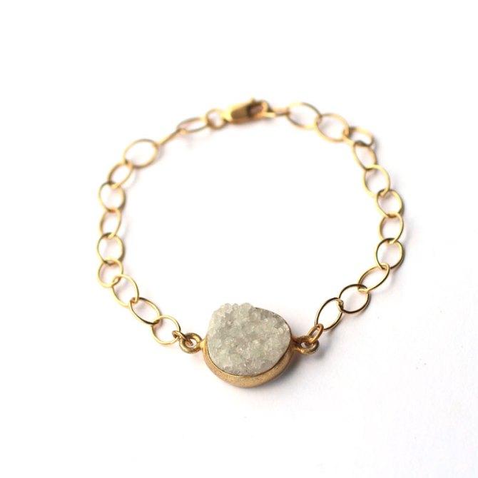 handmade-jewelry-druzy-sparkly-bracelet-14k-gold-filled-chain