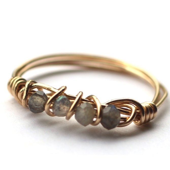 shimmery-beads-wire-wrapped-grey-handmade-14k-gold