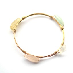 wire-bangle-stones-bracelet-wire-wrapped