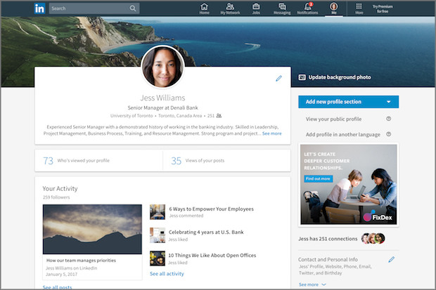 10 tips for setting up your LinkedIn profile Media news