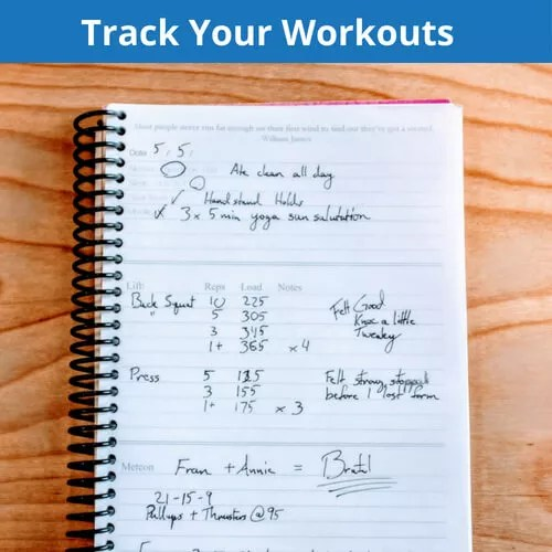 Wholesale Workout Journals Branded gym notebooks for your athletes