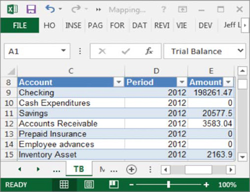 Excel The power of mapping