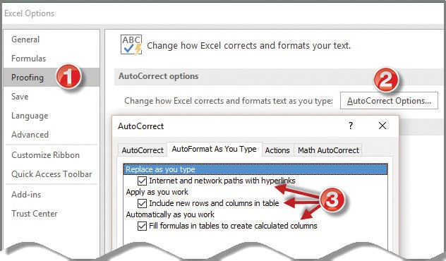 Microsoft Excel How to turn off Excel\u0027s AutoFormat feature