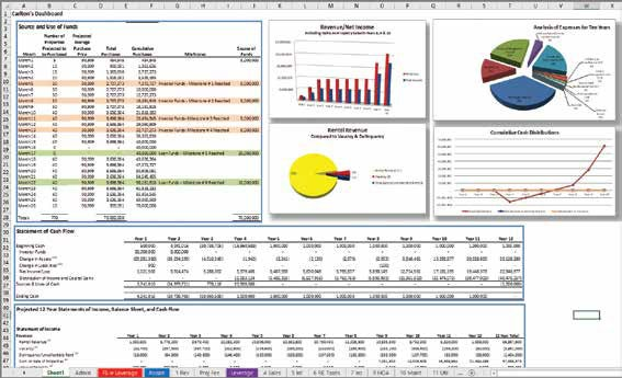 Microsoft Excel Create a picture-based dashboard report - Journal