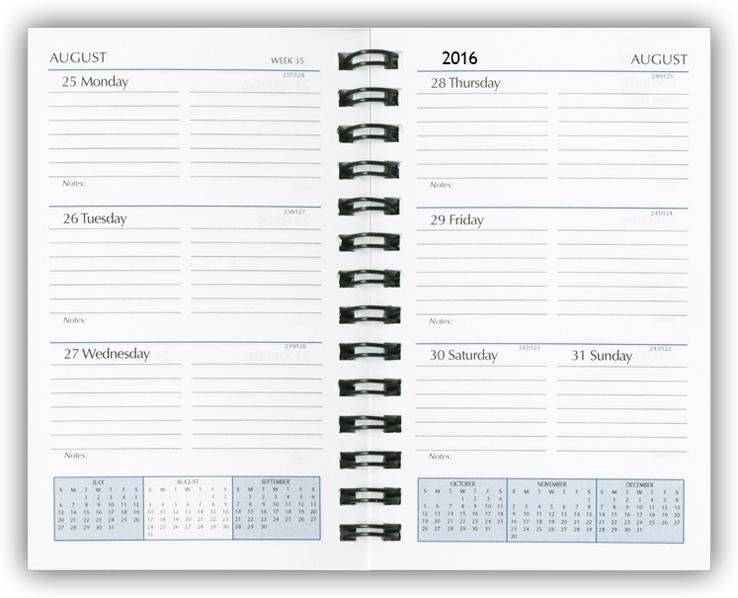 Paper Refills, Planner Calendar Refills, Organizer Inserts, Agendas,  - weekly agenda