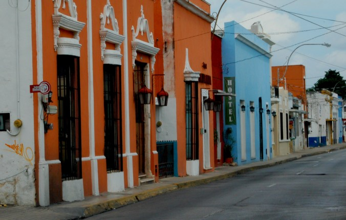 Route Mexiko - Merida