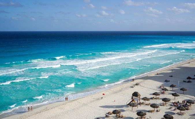 Route Mexiko - Cancun