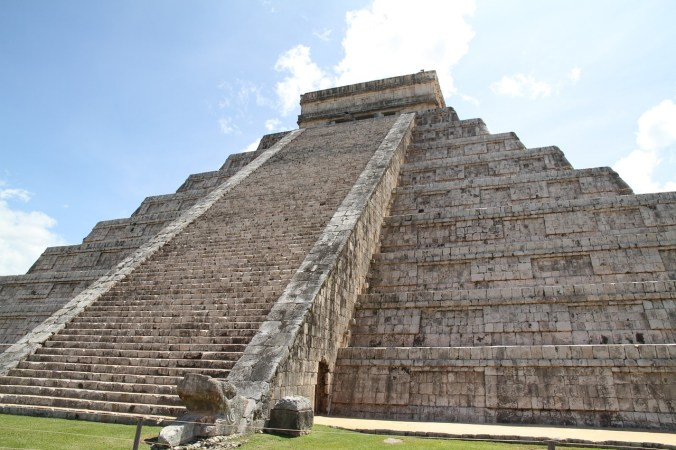 Route Mexiko - Chichen Itza