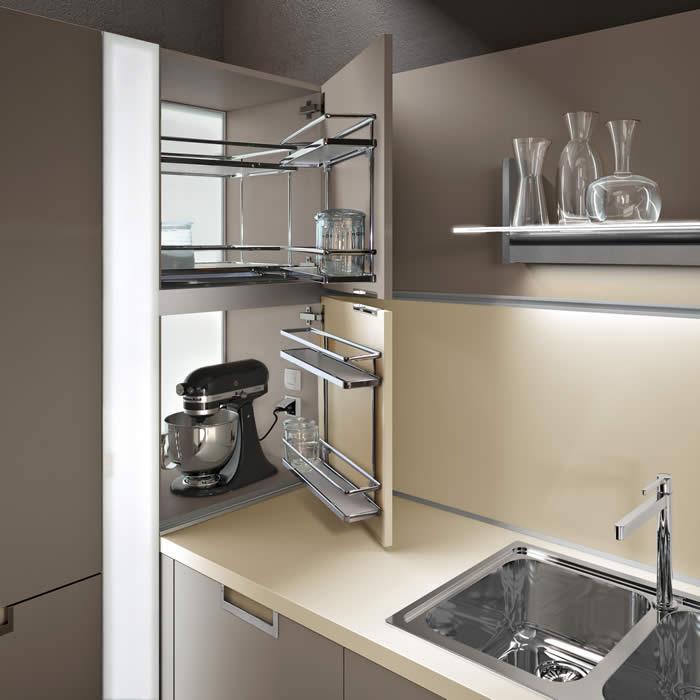 vaatwasser op kniehoogte u003d minder bukken en een oven is ook nog - kleine l küche