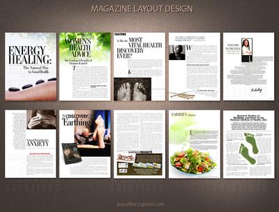 Book Magazine Layout And Format Joycefler Designs