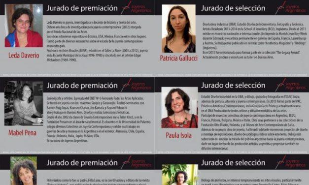 """Jurado de la Primera Bienal Latinoamericana de Joyería Contemporánea """"Puentes"""""""