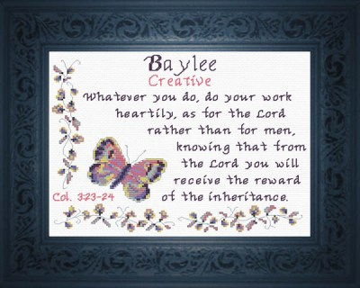 Name Blessings - Baylee - Personalized Names with Meanings and Bible Verses