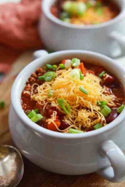 The BEST Crock Pot Chili   Turkey Chili   Gluten Free