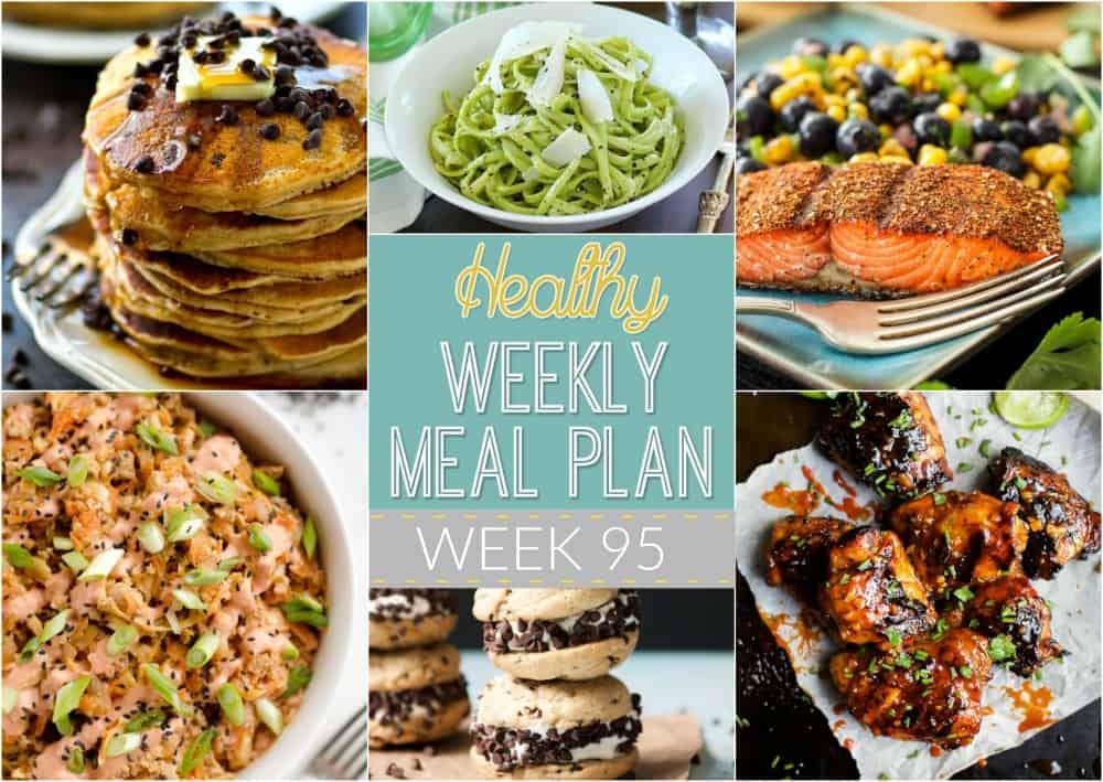 Healthy Meal Plan Week #95 Easy Healthy Recipes