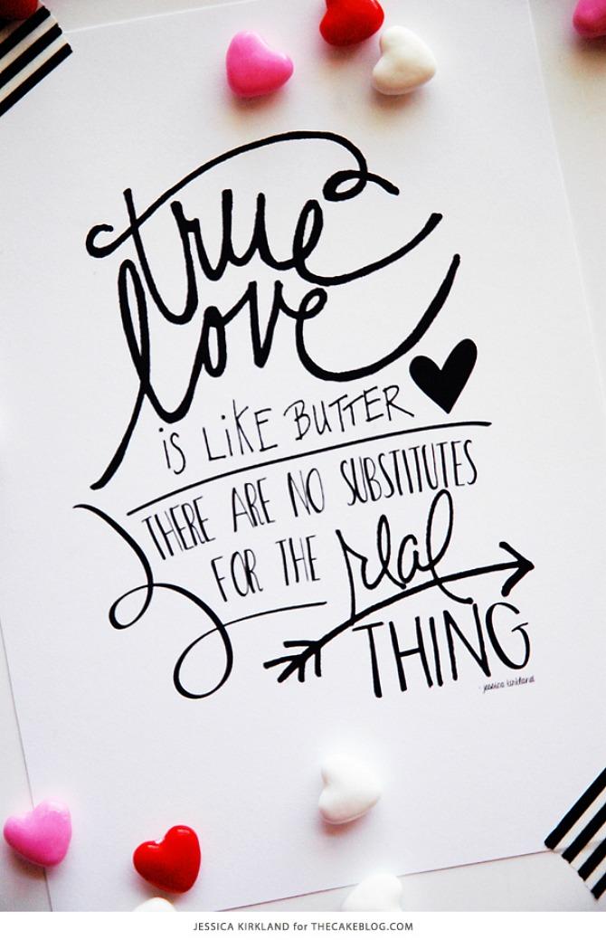 Five Free Printable Love Quotes - JOYFUL scribblings