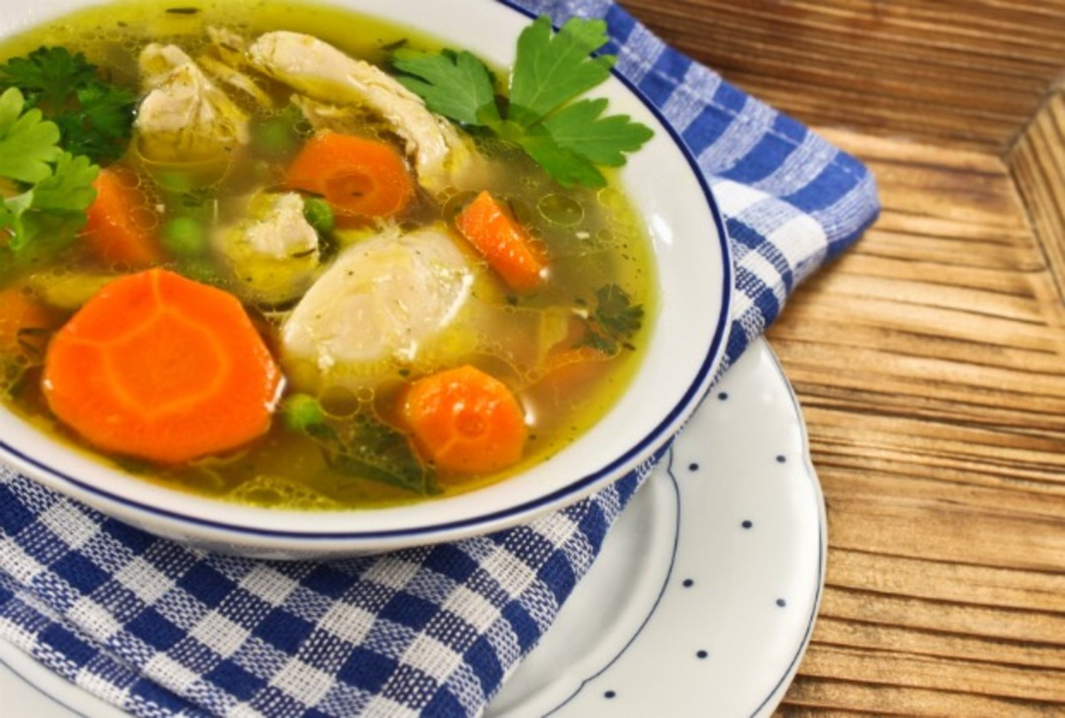 Lily Vails Old Fashioned Chicken Soup Jamie Geller