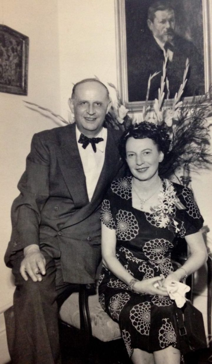 Fred and Mabel Prager [photo courtesy Twilsharp Studios]