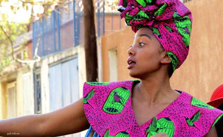 Lindiwe Matshikiza as Sylvie, a Congolese local/tour guide