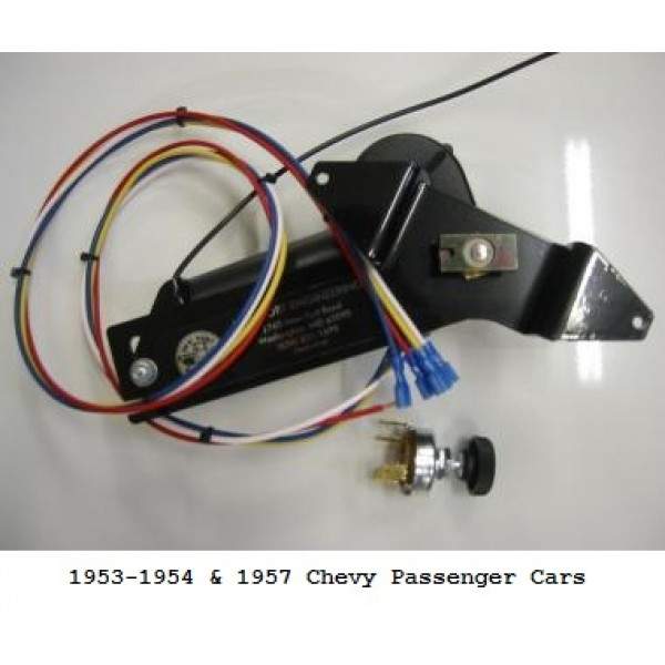 New Port Engineering 12 Volt Windshield Wiper Motor for Chevy