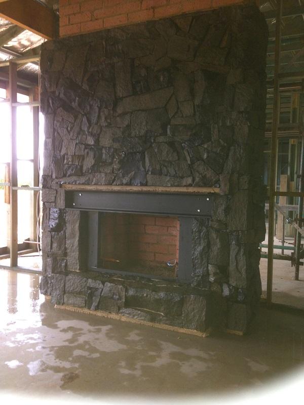 Basalt Fireplace