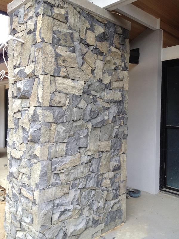 Basalt Feature Wall