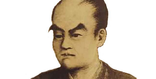 大村益次郎 (村田蔵六)  徳川幕府を倒した討幕軍の司令官で日本の近代兵制の創始者