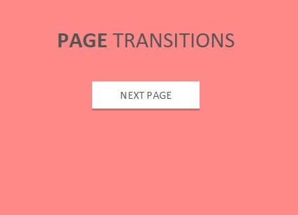 Full Page Transition Animations with jQuery and CSS3 - Page