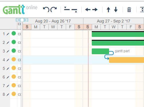 Powerful Gantt Chart Editor With jQuery - jQueryGantt Free jQuery - gantt chart
