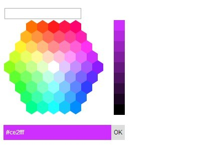 Hexagon Color Picker Plugin with jQuery and jQuery UI Free jQuery