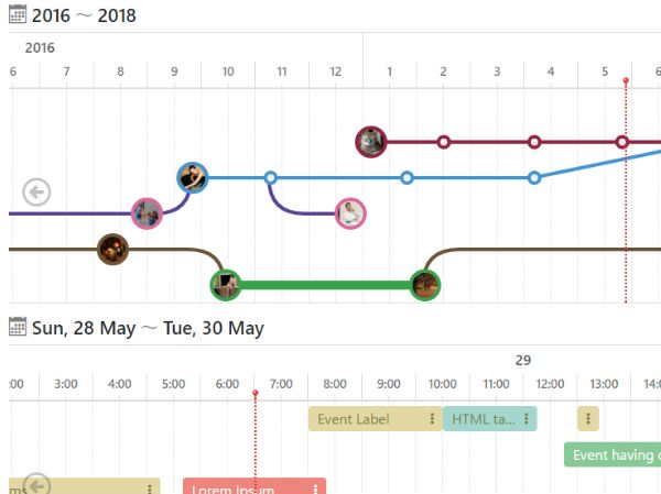 Easy Horizontal Timeline Generator With jQuery - Timelinejs Free - timeline pictures