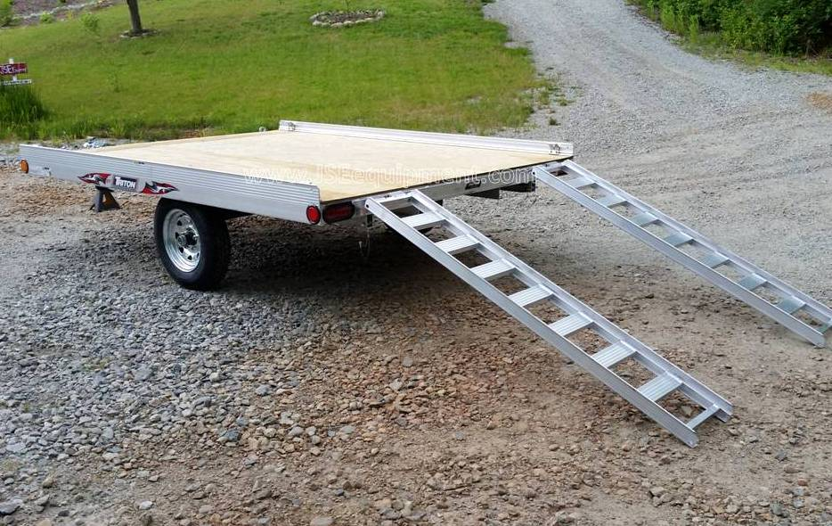ATV and Motorcycle Trailers - JSE EQUIPMENT Utility Trailers