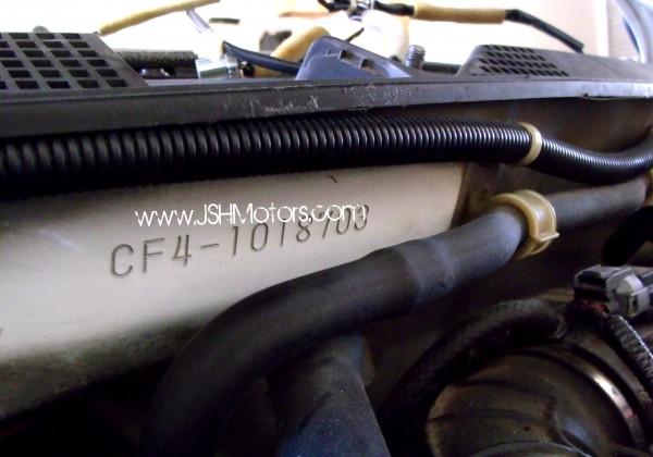 JDM Accord CF4 97-01 SiR-T Right Hand Drive Conversion
