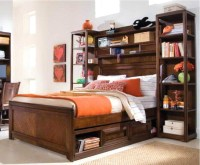 15 Ideas of Bed Frame Bookcases