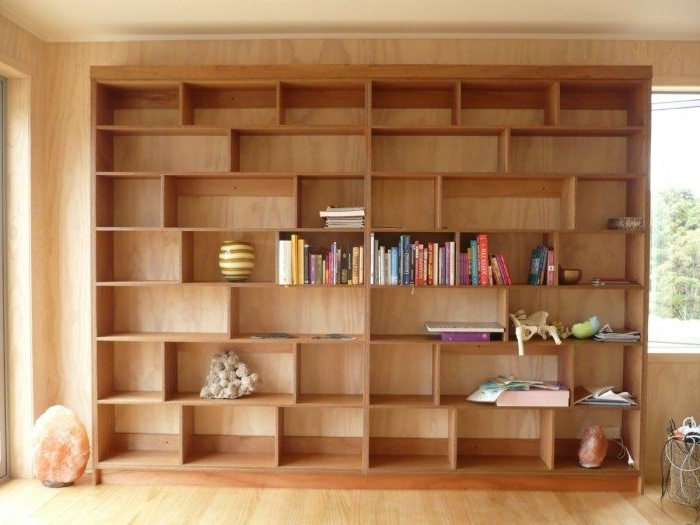 Displaying Gallery Of Plywood Bookcases View 11 Of 15 Photos