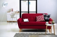 Colorful Sofas And Chairs Beautiful Composition Blue Sofa ...
