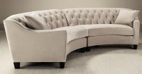 Riemann Curved Tufted Sectional Sofa | www.Gradschoolfairs.com