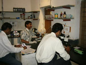 Rajesh, Rishi and Raju at work