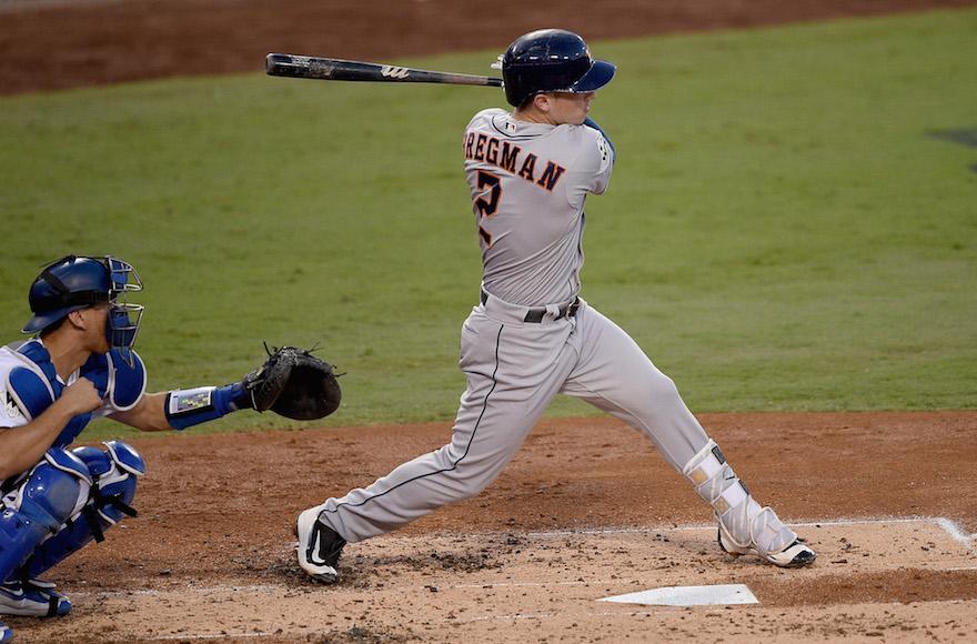 Alex Bregman Is Baseball\u0027s Next Jewish Star Jewish Week - fresh baseball training blueprint