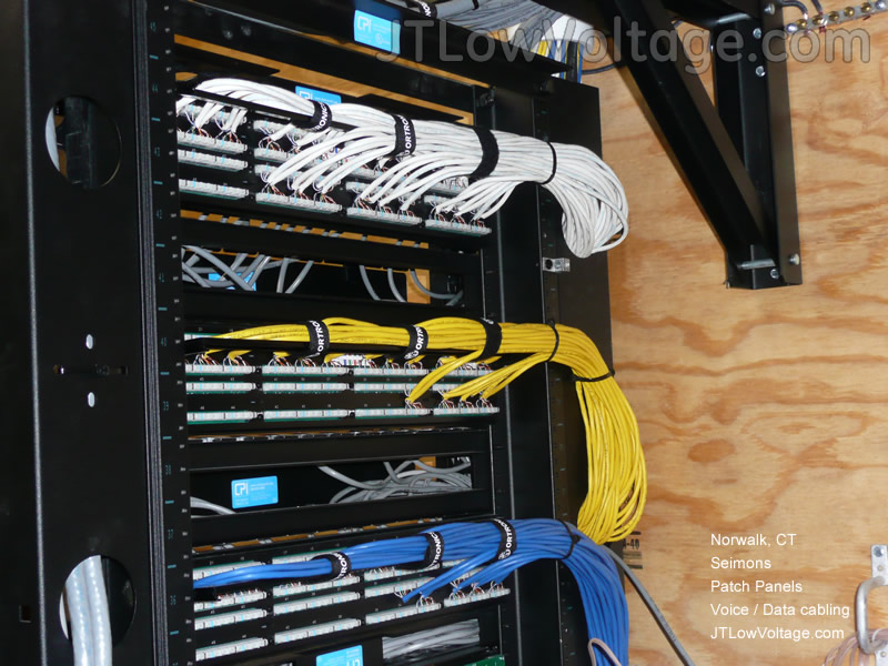 Cabling  Wiring Installation Photo Gallery - JT Low Voltage