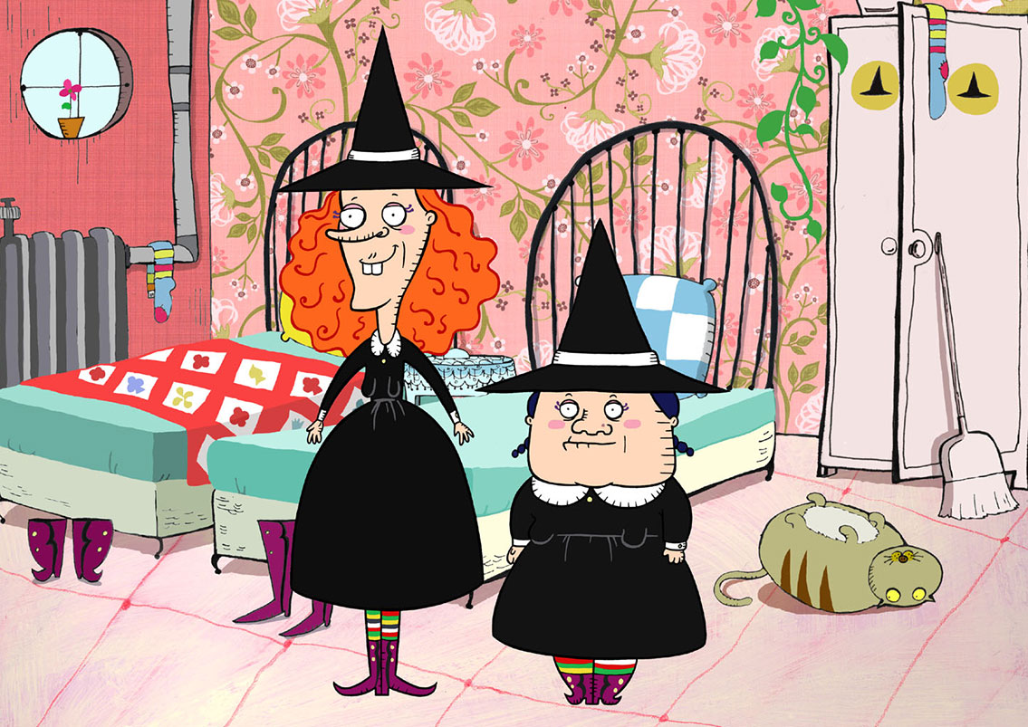 Two Witch Sisters