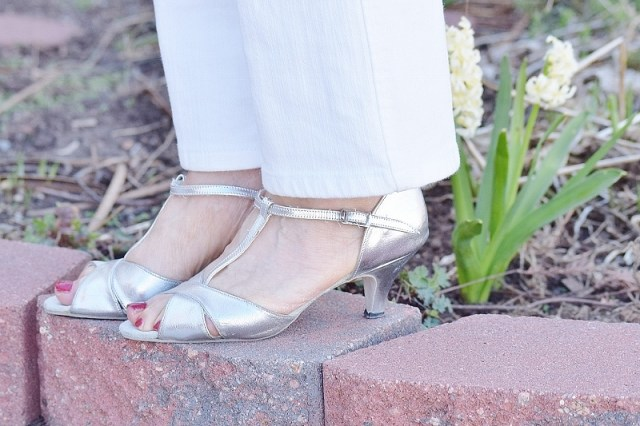 Silver Shoes for the 50, 60 & 70 year old women.