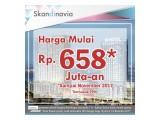 Apartemen Skandinavia terbaru diTangcity Tangerang