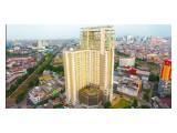 Dijual Cepat Apartemen Elpis Rotterdam Residence Gunung Sahari Jakpus Tipe Studio Tower B Lt. 8 ada 2 unit berdampingan View City & Swimming Pool Size 23 m2, Semi furnished