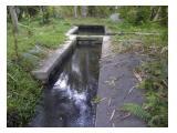 saluran irigasi yg belum bercabang dari bendungan