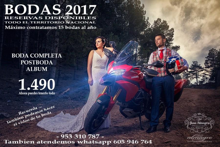 fotografia de boda y posado postbodas Jaén