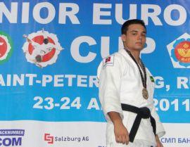 Afonso foi campeão na Rússia | Foto: CBJ