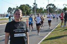 Ana Cláudia participou da maratona de Porto Alegre | Foto: divulgação