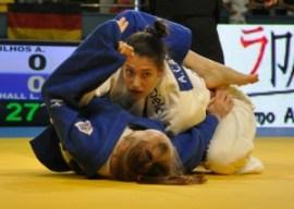 Alexia lutará na Europa pelo terceiro ano seguido | Foto: Lúcio Mattos / CBJ